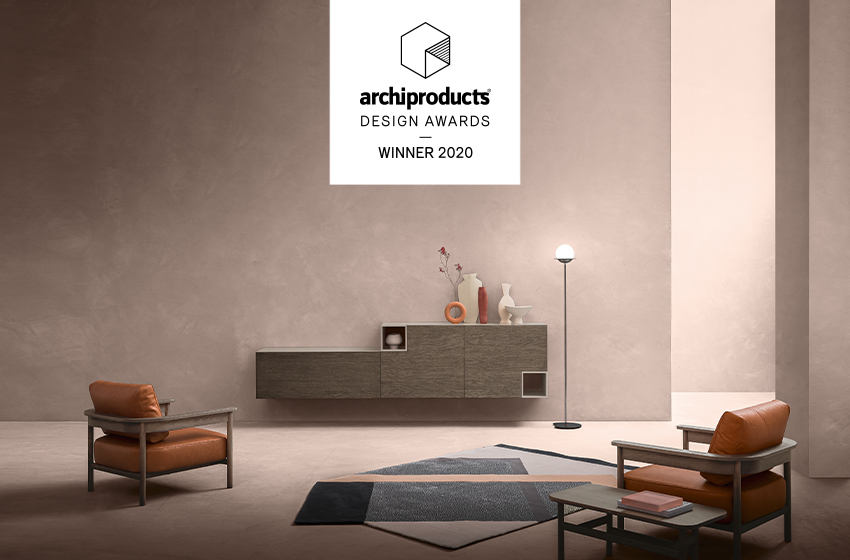 Poltrona Hood vincitrice Archiproducts Design Awards 2020, Zanette